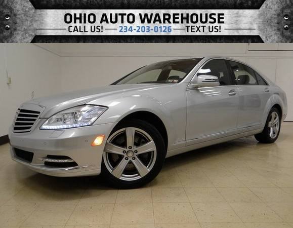 2010 Mercedes-Benz S550 4Matic AWD V8 Navi Sunroof Clean Carfax We Fin
