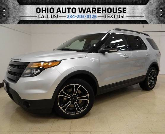 2015 Ford Explorer 4x4 TURBOCHARGED Navi Pano Roof 3rd Row 1-Own