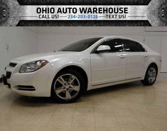 2011 Chevrolet Malibu LT Sunroof Clean Carfax 33 MPG We Finance