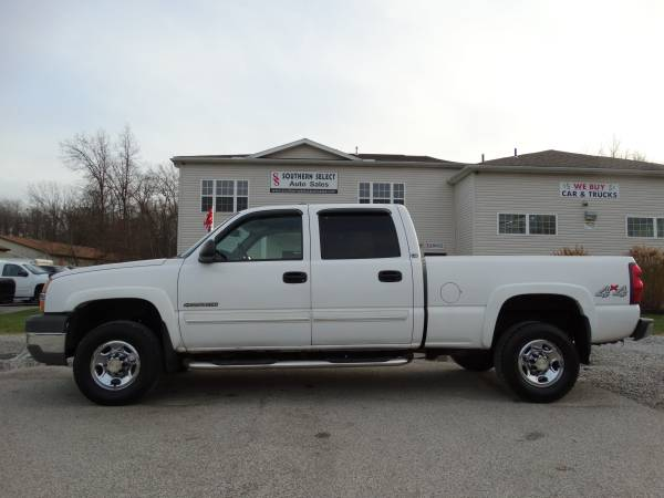 **2004 Chevrolet Silverado 2500HD 4x4 Crew Cab NOT RUST MUST SEE**