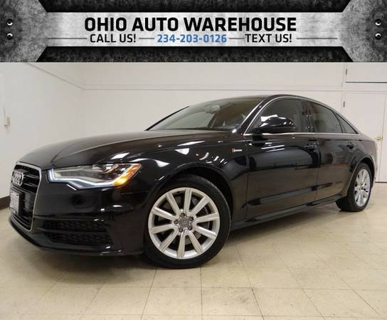 2012 Audi A6 3.0T Prestige AWD SUPERCHARGED Navigation Sunroof
