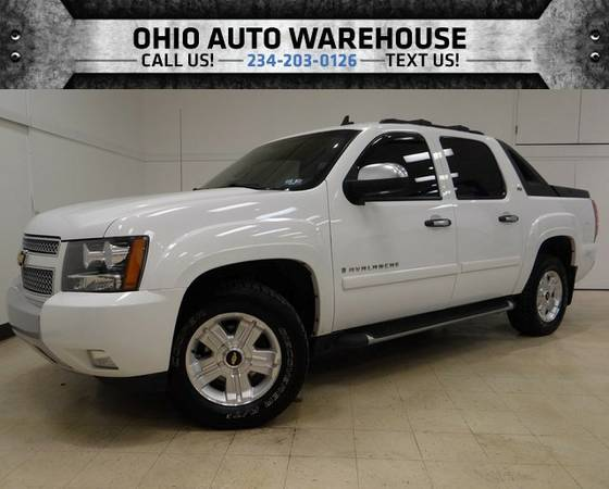 2008 Chevrolet Avalanche LT Z71 4x4 Sunroof V8 Cln Carfax We Finance
