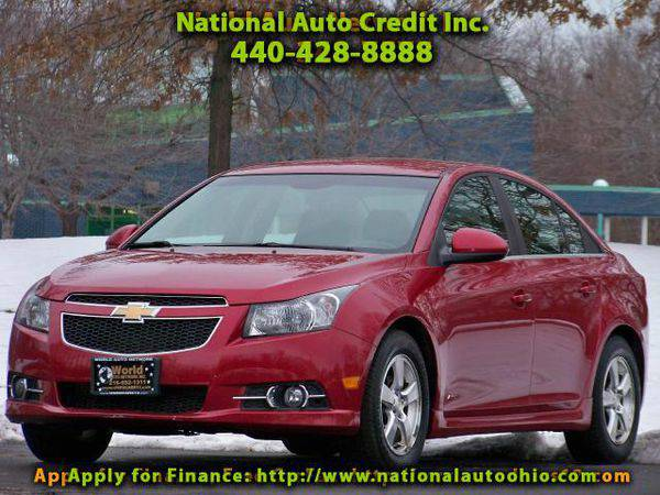 2011 *Chevrolet* *Cruze* 1LT. 1-Owner Vehicle. Power Sunroof Pkg....
