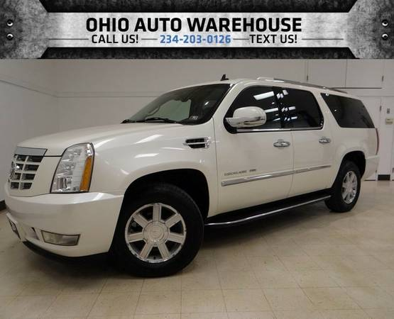 2007 Cadillac Escalade ESV AWD Navi Sunroof Tv/DVD Cln Carfax We Finan