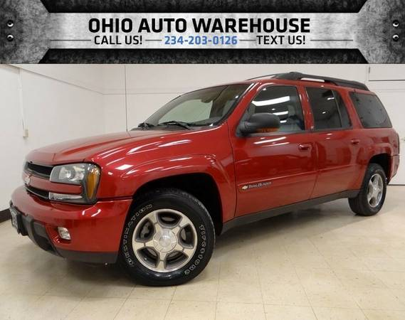 2003 Chevrolet TrailBlazer 3rdROW EXT LT 4x4 Leather 1Own ClnCarfax We