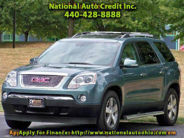 2010 *GMC* *Acadia* SLT-1 AWD. Dual Skyscape 2 panel Power Sunroof. He