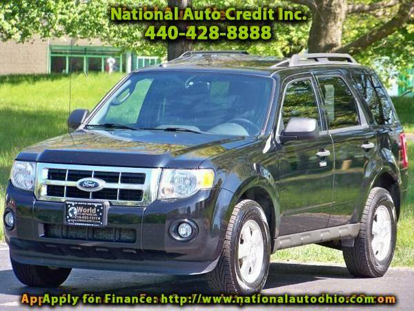 2010 Ford Escape XLT FWD. 1-Owner Vehicle. Power Sunroof Package. A