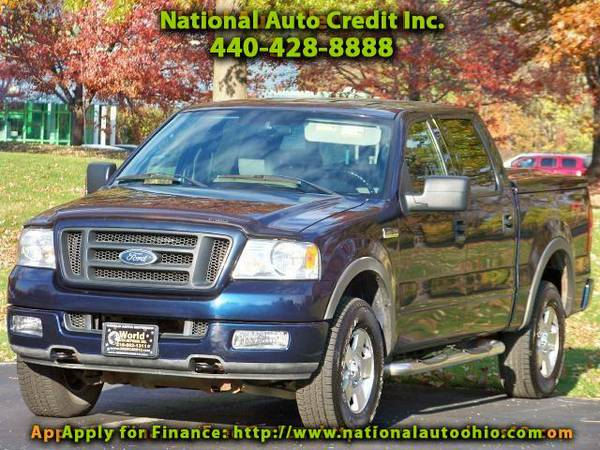 2004 Ford F-150 Lariat SuperCrew 4WD. 1-Owner Vehicle. Tonneau Cov