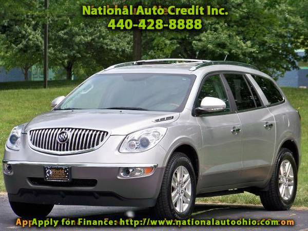 2008 Buick Enclave CX. Alloy Wheels. Fog Lights. Wood Grain Dash and