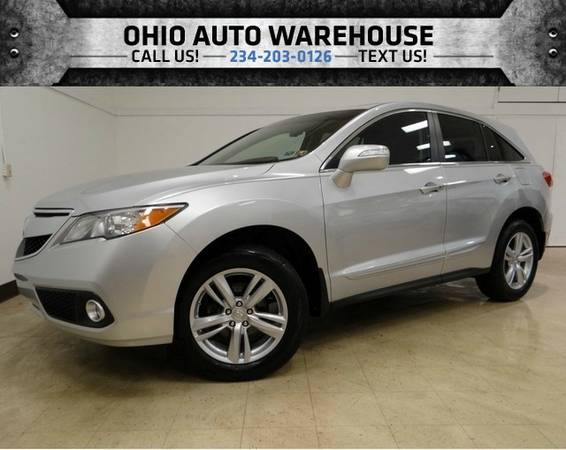 2014 Acura RDX AWD Navi Sunroof 1-Own Clean Carfax We Finance