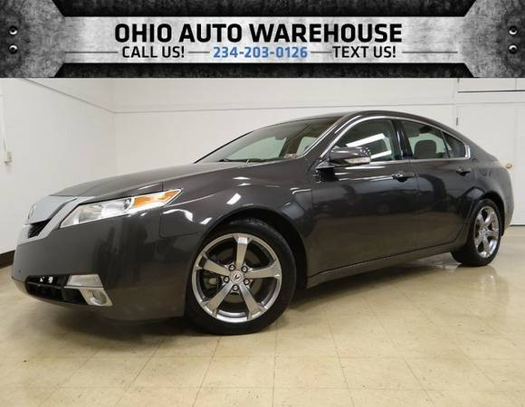 2010 Acura TL AWD V6 Sunroof 1-Own Cln Carfax We Finance
