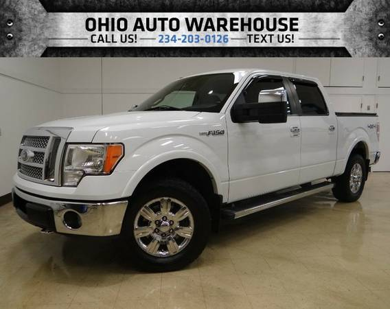 2010 Ford F-150 Crew Cab Lariat 4x4 Clean Carfax We Finance
