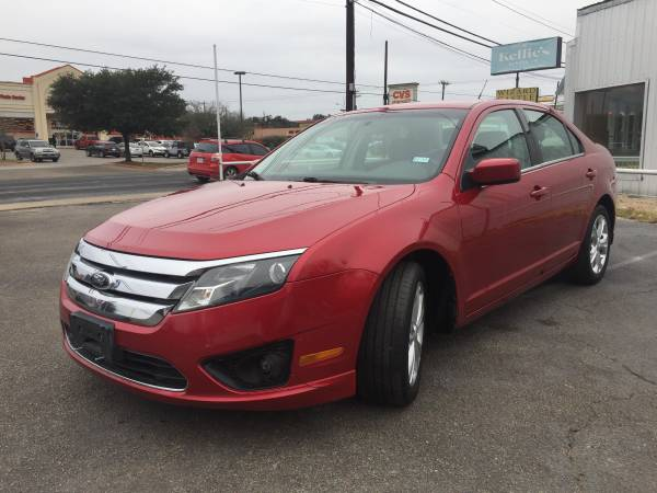 2012 FORD FUSION RED, SUPER CLEAN !!!