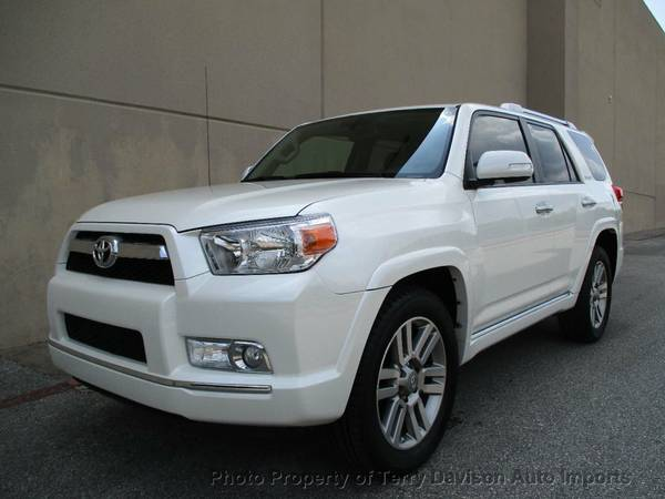 2010 Toyota 4Runner Limited Blizzard Pearl
