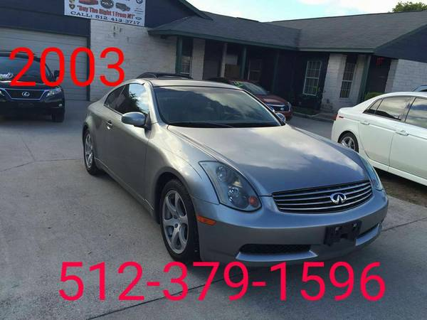 2003 Infinity G35 Coupe only one owner clean Carfax