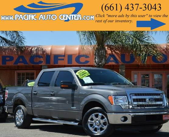 * 2013 Ford F150 XLT * CREW CAB * ECOBOOST * 3.5L FORD F-150 #15963