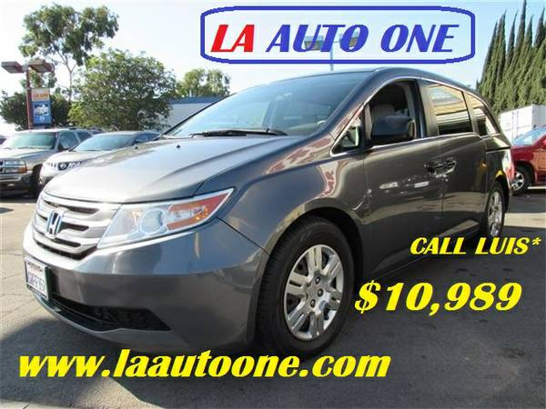 2012 HONDA ODYSSEY LX $10,989 CALL LUIS ** SPECIAL OF THE DAY********