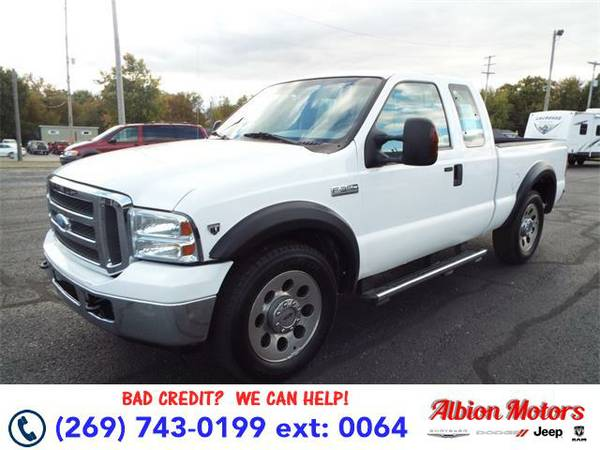 2005 *Ford F-350* - Ford Oxford White