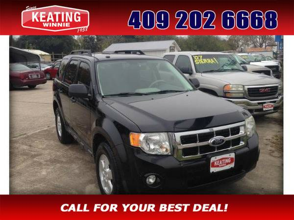 *2010* *Ford Escape* *XLT FWD* Black