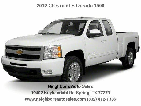 2012 Chevrolet Silverado 1500 2WD Ext Cab 143.5 LT LOW MILEAGE *Clean