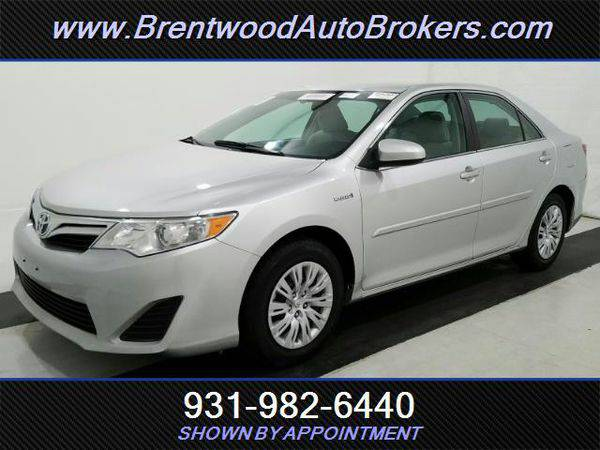 2013 *Toyota* *Camry* *Hybrid* LE BANK FINANCING! OPEN ON SUNDAYS!