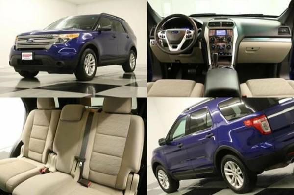 *2015 Blue EXPLORER 4WD-BLUETOOTH*2015 Ford*LOW MILES-7 PASSENGER*