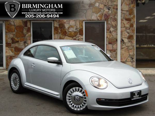 2013 Volkswagen Beetle Coupe 2dr Automatic 2.5L Moonrock Silver Metall
