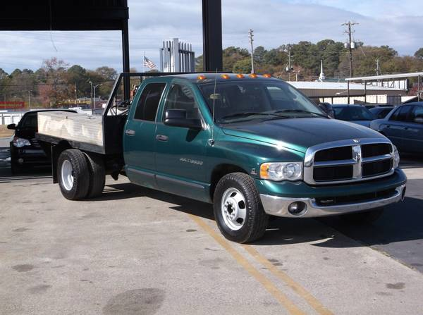 2004 Dodge Ram 3500 Quad Cab Dually Flat Bed. 1 OWNER ZERO ACCIDENTS!