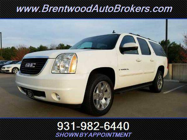 2007 *GMC* *Yukon* XL SLT 1500 BANK FINANCING! OPEN ON SUNDAYS!