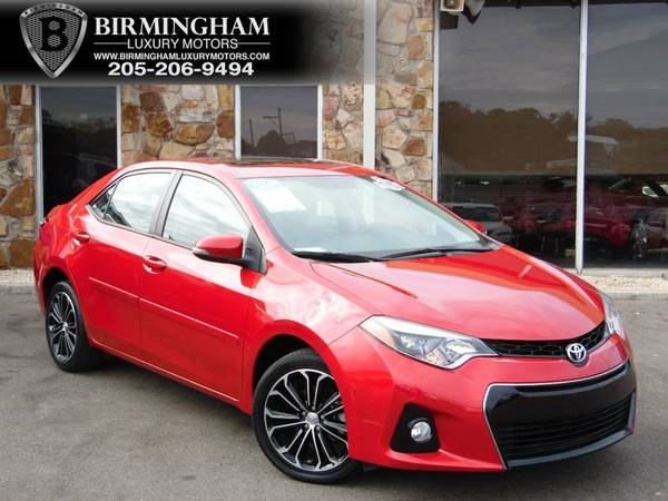 2014 Toyota Corolla 4dr Sedan CVT S Premium Barcelona Red Metallic
