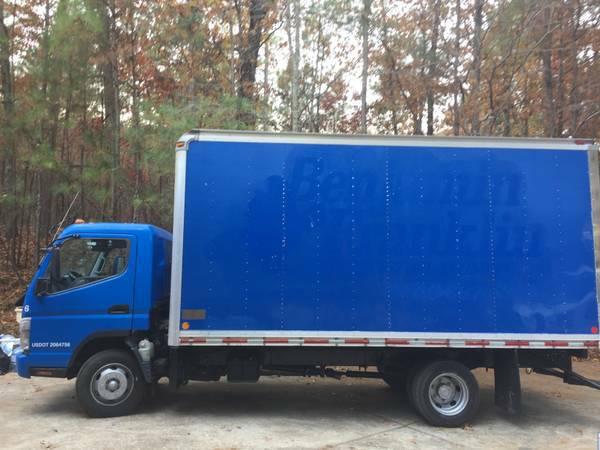16 ft mitsubishi fuso diesel box truck