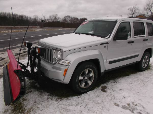 $179/MTH**2008 JEEP LIBERTY 4DR SPORT 4X4 W/PLOW**$179/MTH