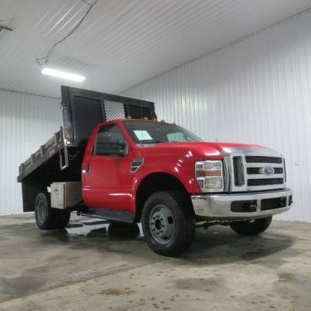 2009 Ford F-350 _ 6.4 Diesel _ 6 Speed Manual _ Dump Bed