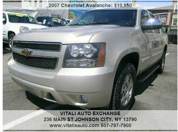 2007 Chevrolet Avalanche LT 1500 4dr Crew Cab 4WD