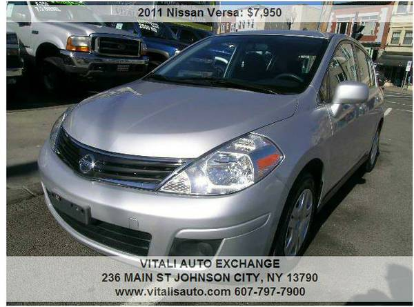 2011 Nissan Versa 4dr Hatchback **Low Miles 50,000**