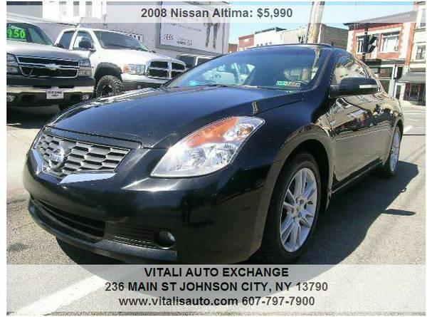 2008 Nissan Altima 3.5 SE 2dr