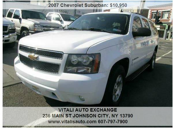 2007 Chevrolet Suburban LT 1500 4dr SUV 4WD