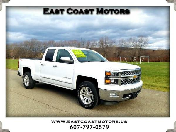 2014 Chevrolet Silverado 1500 LTZ Double Cab Short Box 4WD*Loaded