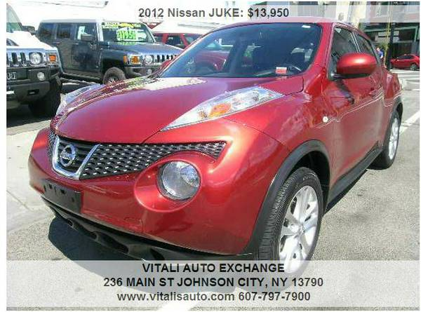2012 Nissan JUKE SV AWD 4dr Crossover **Only 51,000 Miles***