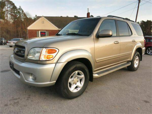 2001 *TOYOTA* *SEQUOIA* *SR5* *4WD* Come See the Difference