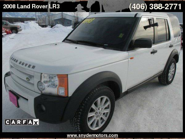 2008 Land Rover LR3 SE 4x4,Nav/Moonroof,3rd Row,Clean!New Tires