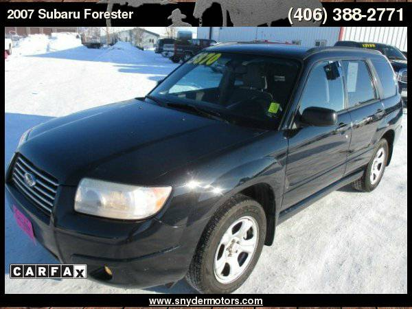 2007 Subaru Forester,AWD,20 Service Records,2.5L