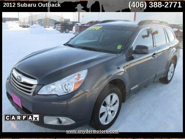 2012 Subaru Outback 2.5i Premium AWD,Only 87K,Well Maintained,Clean!