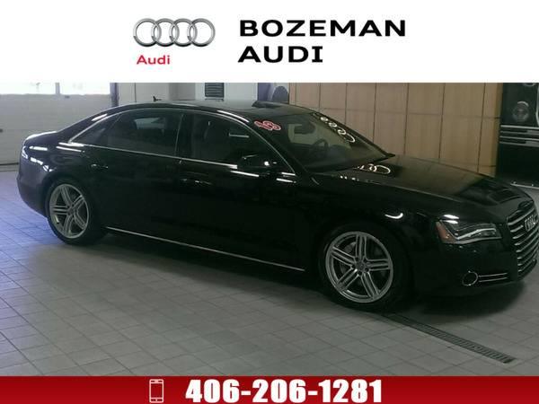 *2013* *Audi A8* *L 3.0T (Tiptronic)* Black