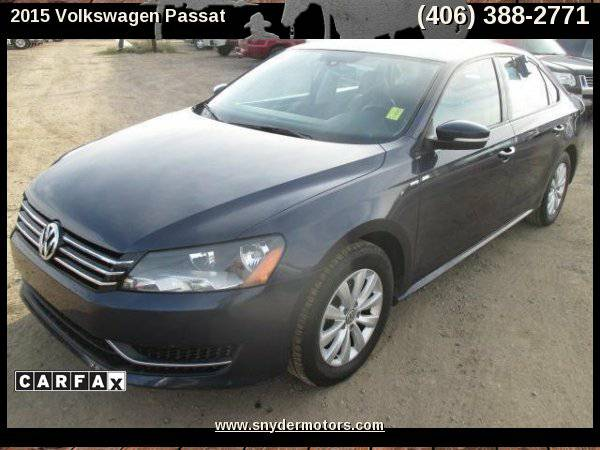 2015 Volkswagen Passat,1.8L TURBO,ONLY 49K,CARFAX 1 OWNER