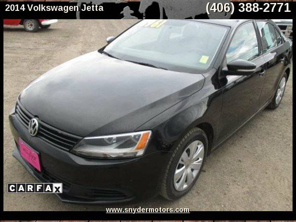 2014 Volkswagen Jetta New Tires CLEAN! 1 OWNER ONLY 33k