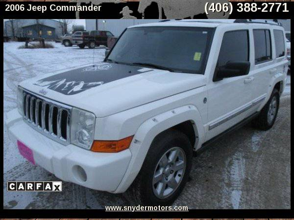 2006 Jeep Commander Limited 4WD,Hemi!3rd Row,Loaded! Clean