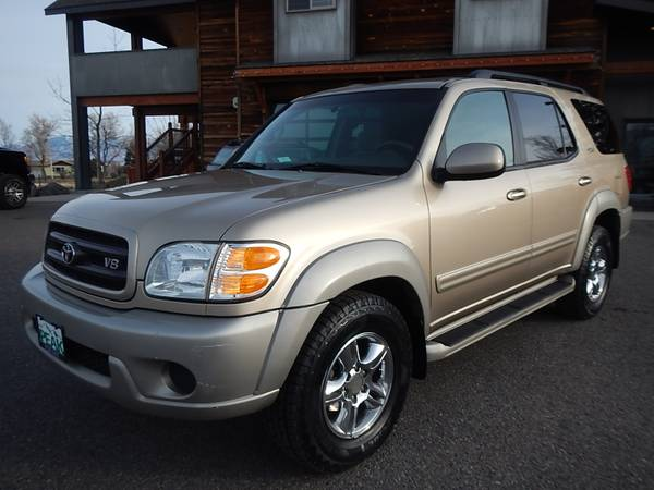 2001 Toyota Sequoia SR5 4x4 New Tires