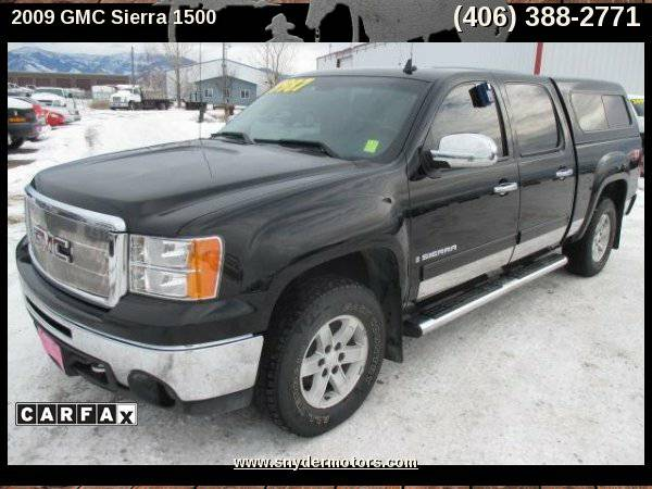 2009 GMC Sierra 1500 SLE 4x4,Super Clean! Well Maintained,5.3L,92K