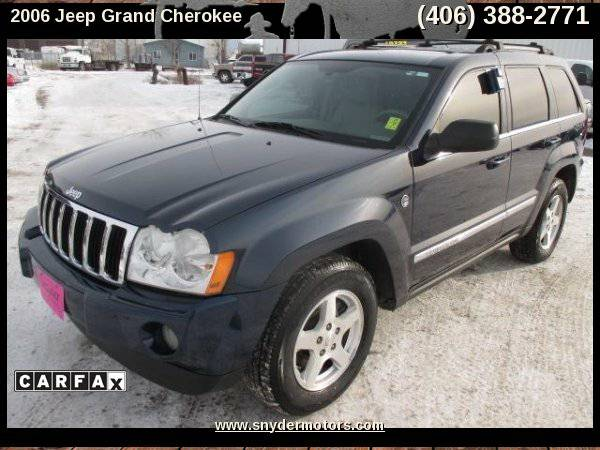 2006 Jeep Grand Cherokee Limited 4WD,Clean! New Tires,V-8,Well Maintai